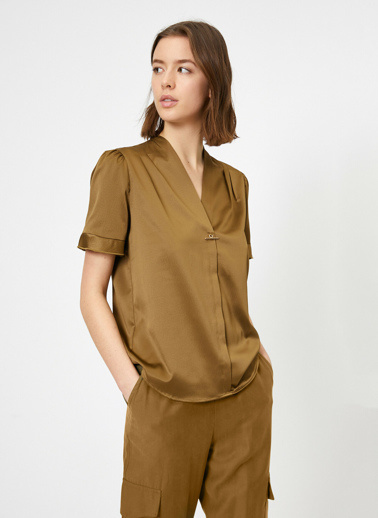 Koton Bluz Yeşil